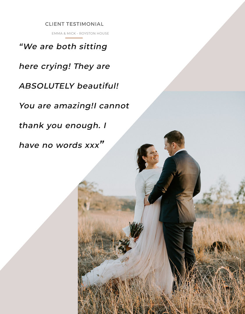 Doe + Deer Wedding Photography Pricing Guide_0002_Pg 3 - Client Testimonial